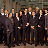 group portrait of lawyers at Ladas & Parry