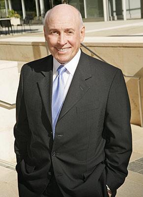 CEO business portrait outside in LA