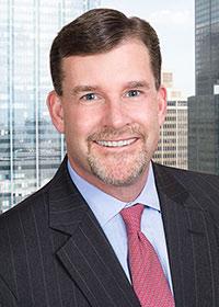professional headshot of corporate lawyer at Locke Lord